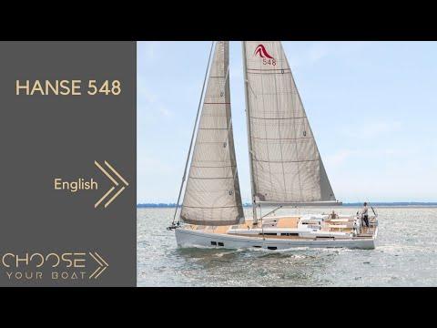 HANSE 548 Tour Video (in English)