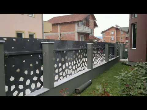 Cnc Plasma Cut Fence Youtube