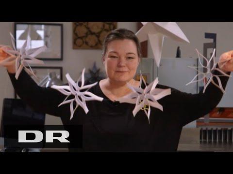 Sådan laver du en papir mobile med Louise | Made in Denmark | DR1
