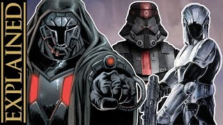The ORIGINAL Sith Troopers from Star Wars Legends