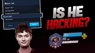 Dafran Reviews Alleged Hackers Footage! Is He Actually Hacking? - Overwatch