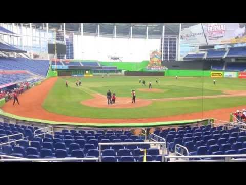 Ihan Bernal 2-run RBI Double at Marlins Park 2013