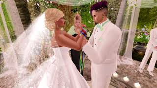 Dante & Luna Second Life Wedding - 2.17.19