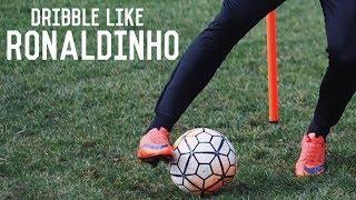 How To Dribble Like Ronaldinho | Five Easy Ronaldinho Skill Moves
