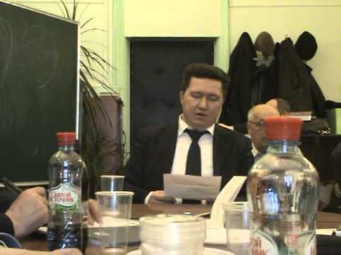 Семинар ИФ РАН. Часть первая