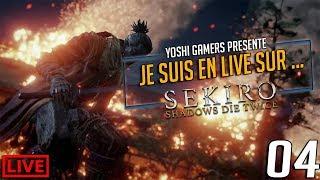 Je suis en live sur... Sekiro Shadows Die Twice  Partie 04 #Ps4share #Sekiro
