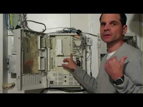 My Home Pbx System Panasonic Kx Td816 Kx Tvp200 Youtube