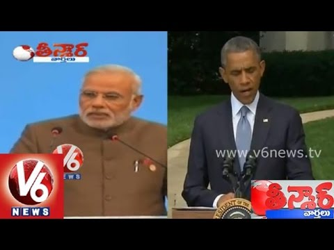 Indian government MOU with America on food materials - Teenmaar News
