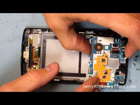 Nexus 5 Charging port fix. Cracked Screen Repair. complete tear down.