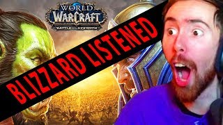 "Asmongold ""I ACTUALLY WANT TO PLAY BFA"""