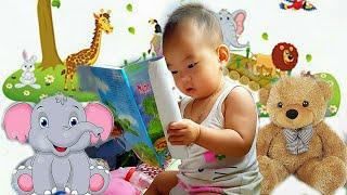 Ngọc Gia Han Làm Quen Với Sách - Nhạc Nền Thiếu Nhi Chú Voi Con
