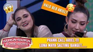 Download Lagu PRANK CALL ARIEL NOAH, Luna Maya Salting  - Suka Suka Sore Sore (9/1) PART 3 Gratis STAFABAND
