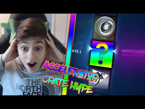 ACCELERATOR CRATE HYPE | LAST OVERDRIVE CRATE OPENING | Rocket League