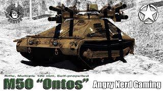 "War Thunder: M50 ""Ontos"", American, Tier-5, Tank Destroyer"
