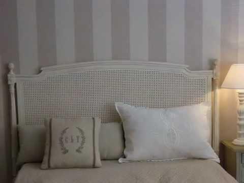 Cabeceros de rejilla youtube - Cabeceros de cama pintados ...
