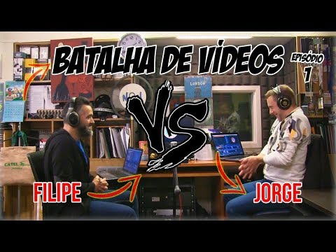 Watching video Batalha de Vídeos EP. 1 - Filipe Vs Jorge | NãoQueresNada