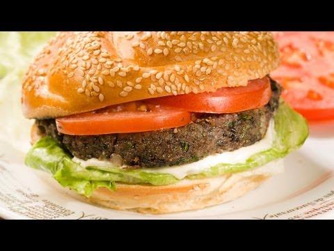 Spiced Black Bean Burgers