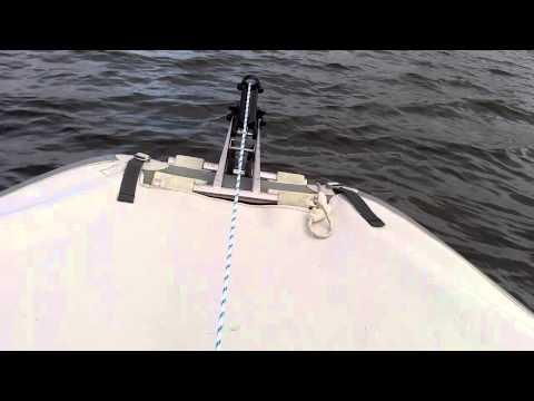 якорная лебедка для лодки с алиэкспресс