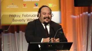 'Book Of Life' Director Jorge R. Gutierrez Accepts Award At 2015 NHMC #ImpactAwards