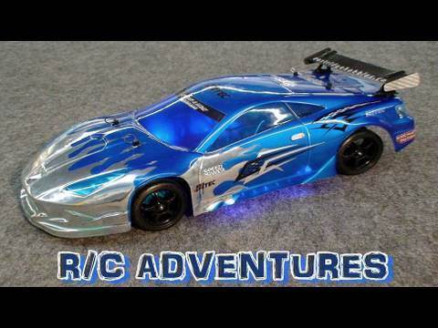 RC ADVENTURES - BRUSHLESS TOURING DRIFT CAR PART 7 TAMIYA TT01 R KIT CUSTOM KIT