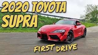 2020 Toyota Supra: A first drive review