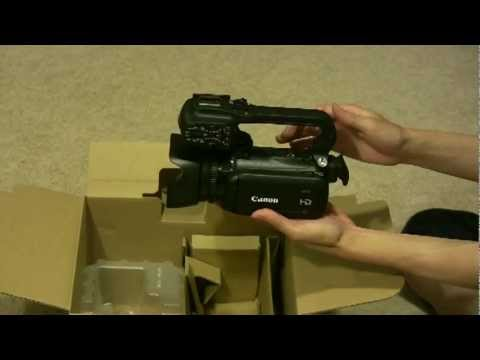 Canon XA10 Camcorder - Unboxing and First Impressions