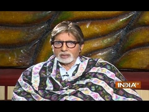 Exclusive: Amitabh Bacchan speaks on India TV about Narendra...