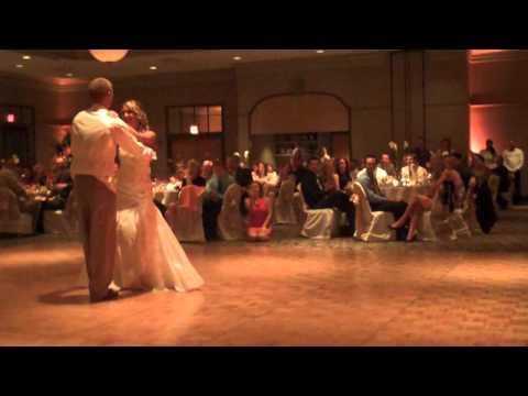 Kristin And Troy Wedding Dance.  Slow Dance   Time Of My Life   Dirty Dancing Routine video
