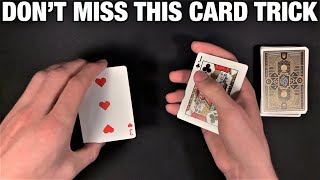 Quick and Fun NO SETUP Card Trick That Will Get Everyone's Attention!