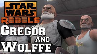 Star Wars Rebels: Gregor and Wolffe Stay Behind!?