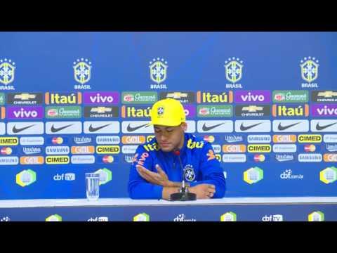Seleção Olímpica Rio 2016: Coletiva com Neymar 26/07/2016