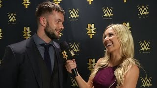 Fergal Devitt speaks to Renee Young after arriving at NXT: You saw it first on WWE.com