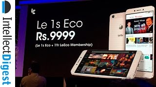 LeEco Le 1S Eco Hands On And Comparison With Le 1S | Intellect Digest