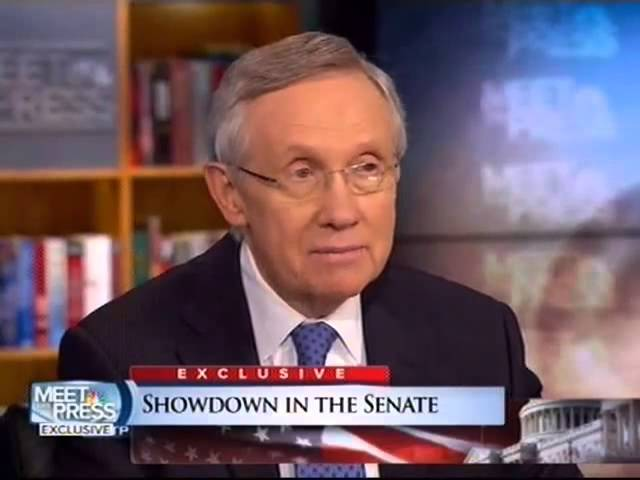 Sen. Harry Reid: We Need To End The Gridlock In The Senate