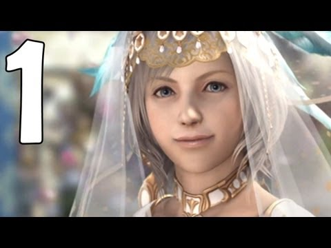 Final Fantasy XII Movie Version - Part 1 - Princess Ashe's Wedding (1080p)
