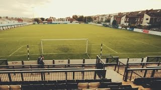 Why I gave up supporting Liverpool in favour of non-league Marine FC – video