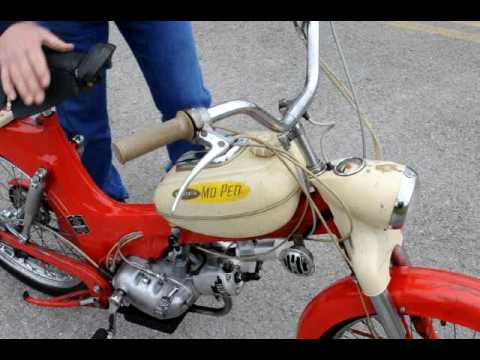 1957 allstate moped by puch youtube