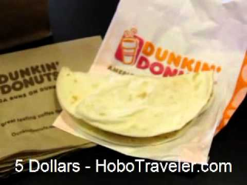What I ate on a 5 Dollar Food Budget in USA HoboTraveler.com