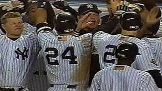 2001 WS Gm4:  Tino smacks a two-run homer to tie it