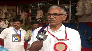 Face To Face With CPM Politburo BV Raghavulu | Maharashtra #KisanMovement | Hyderabad
