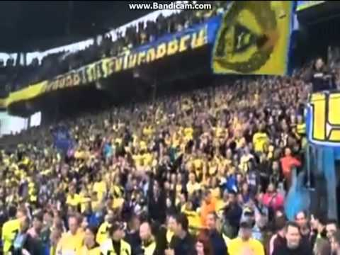 Amazing reception for Daniel Agger on his return to Brondby