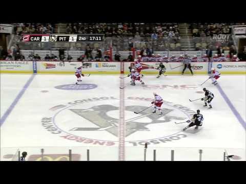 Carolina Hurricanes vs. Pittsburgh Penguins 28.11.2014