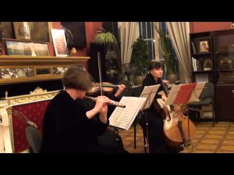 Гайдн, Йозеф - Трио для баритона, альта и виолончели №  2 ля мажор
