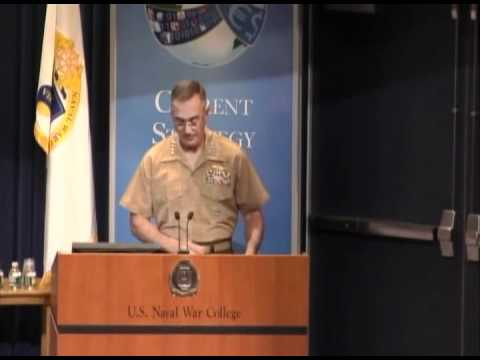 CSF 2012 | Gen. Joseph Dunford Jr.: U.S. Grand Strategy in Maritime Power