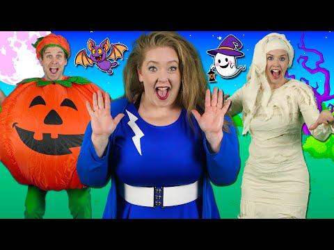 Alphabet Halloween - ABC Halloween Song 🎃 Learn the alphabet & phonics | Bounce Patrol