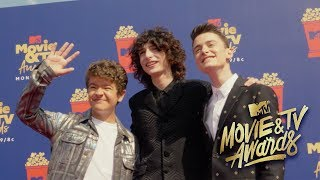 MTV Movie Awards Red Carpet With Finn & Gaten | Noah Schnapp