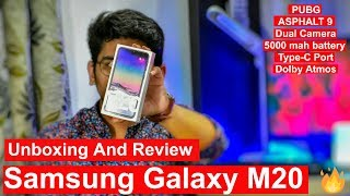 Samsung Galaxy M20 Unboxing and Review [Hindi] || Camera and Gaming Testing 🔥 🔥 🔥 || Must Watch