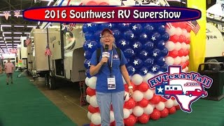 2016 Southwest RV Supershow in Dallas, Texas