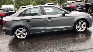 2018 Audi A3 Sedan Lake forest, Highland Park, Chicago, Morton Grove, Northbrook, IL AP7995