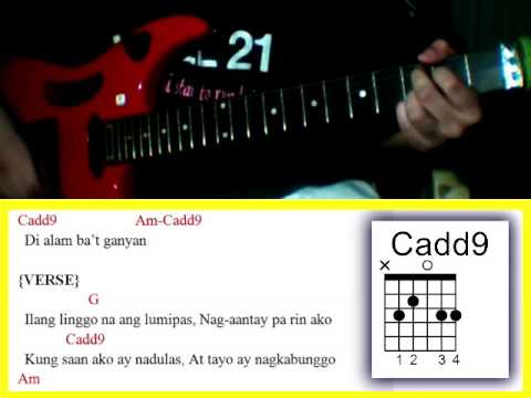 Playlist Of Walang Dahilan By Gimme 5 Guitar Chords Melodlist